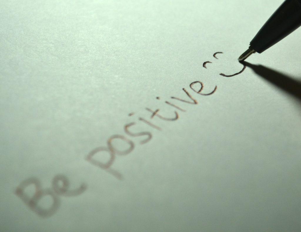 actitud positiva en la vida